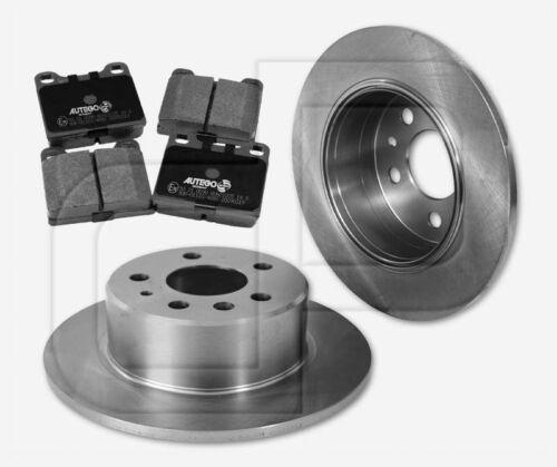 4 Bremsbeläge MERCEDES Pagode 250 280 SL W113 hinten 279 mm 2 Bremsscheiben