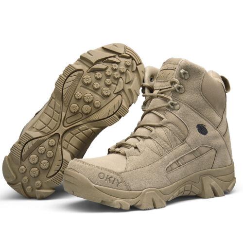 Militärschuhe Soldatenschuhe Wanderschuhe Wasserdichte höhe Stiefel Freien Neue