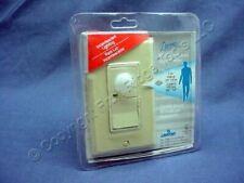 Leviton Ivory Decora 110 Degree Motion Activated Sensor Occupancy Switch 6780 I