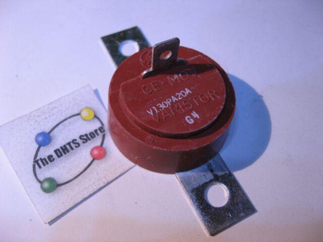 V130PA20A General Electric MOV Metal Oxide Varistor 130VAC 6.5KA - NOS Qty 1