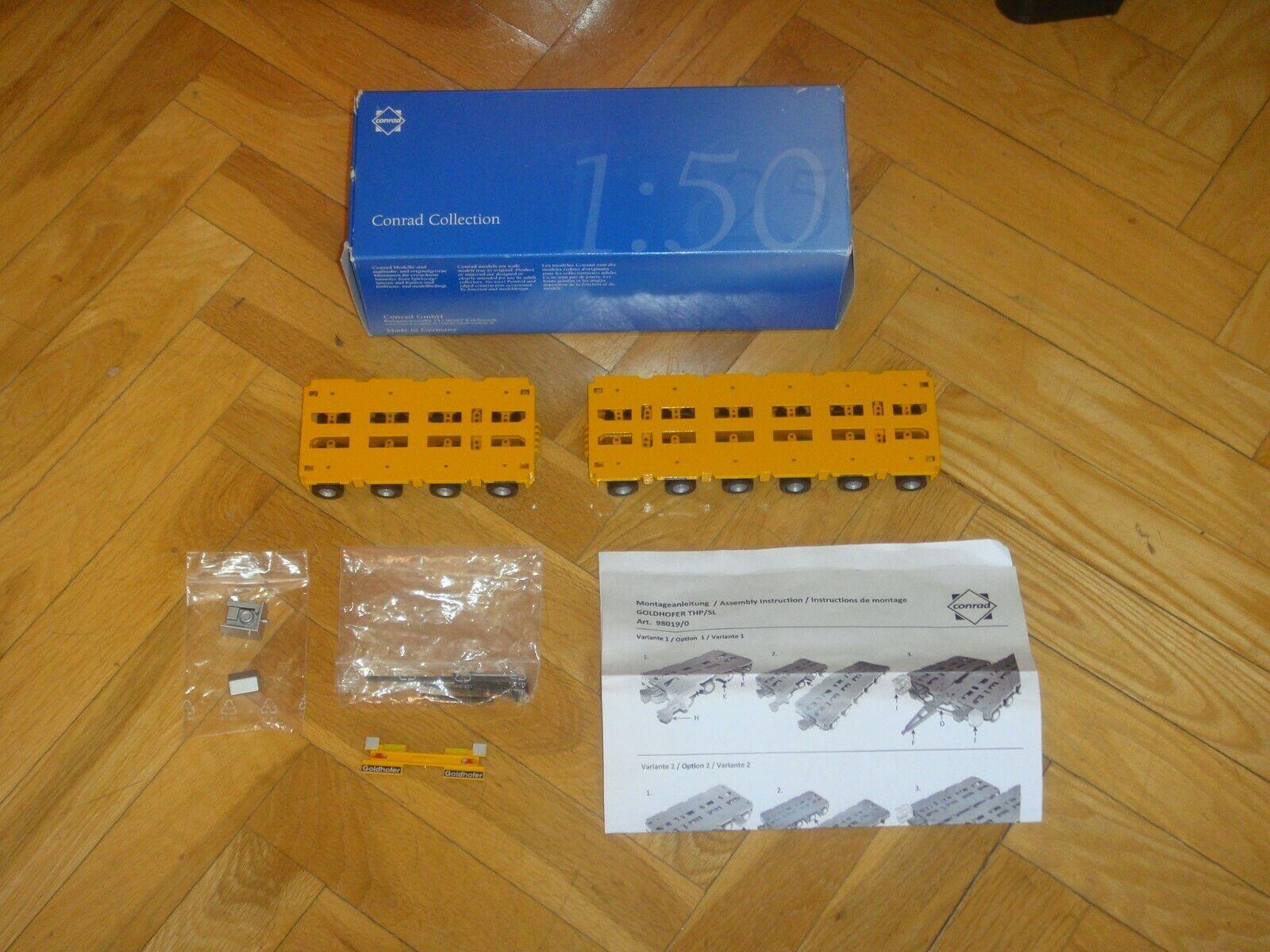 2 x argentFORMAS orHOFER CON 4 Y 6 EJES DE CONRAD Art  98019 03. BUEN ESTADO-(2