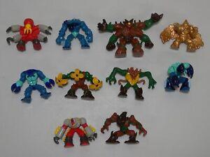 10-Gormiti-Figure-Lot-Lords-of-Nature-Fire-Mountain-Mini-Monster-Giochi-Preziosi