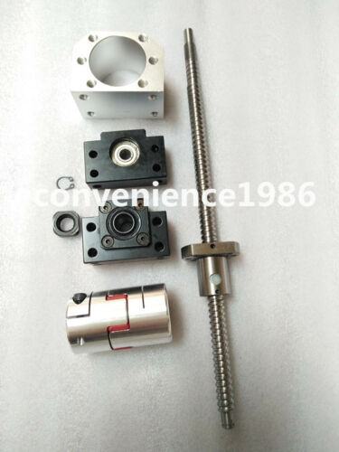 Anti-backlashed RM2505-846 mm Ballscrews /& BF20//BF20 /& 12*17 mm couplering