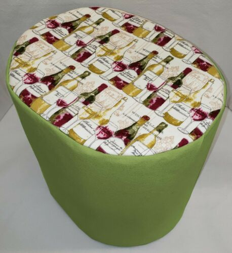 Canvas Wine Bottles Food Processor Cover