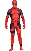 Deadpool X-men Party Suite Costume Marvel Comics Size Adult Xlarge 982