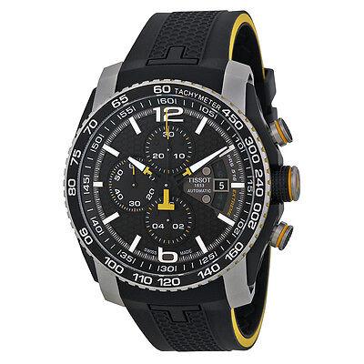 Tissot PRS 516 Automatic Chronograph Black Rubber Mens Watch T0794272705701
