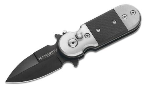 Springmesser Magnum Black Lightning kleines Einhandmesser Taschenmesser 01SC148