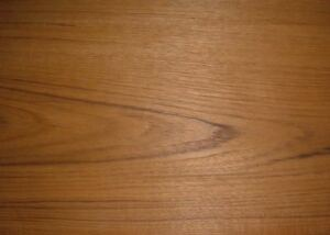 Iron On Wood Veneer Sheet Teak 100 Quot X 10 Quot Ebay