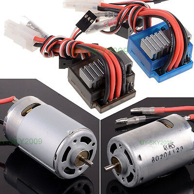 1:10 HSP 320A Bidirectional BRUSHED ESC,  RS540 26 Turn BRUSHED Electric Motor