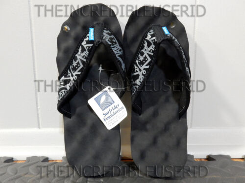 Gravis Soundcheck Sandals Men/'s 8 Black Flip Flops Beach Pool Slippers NICE BRO!