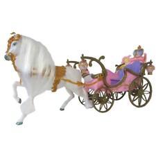 NEU,OVP Prinzessin 30 cm Ankleidepuppe mit Pferd und Kutsche