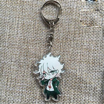Danganronpa V3 Cute Key Chain Komaeda Nagito Bag Pendants Key Rings Keychain