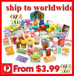 Coles-Little-Shop-2-amp-1-Mini-supermarket-Miniature-toy-1-6-1-12-mini-OZZ-TOY