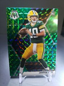 2020-Panini-Mosaic-JORDAN-LOVE-RC-211Green-Prizm-Rookie-Card-Green-Bay-Packers