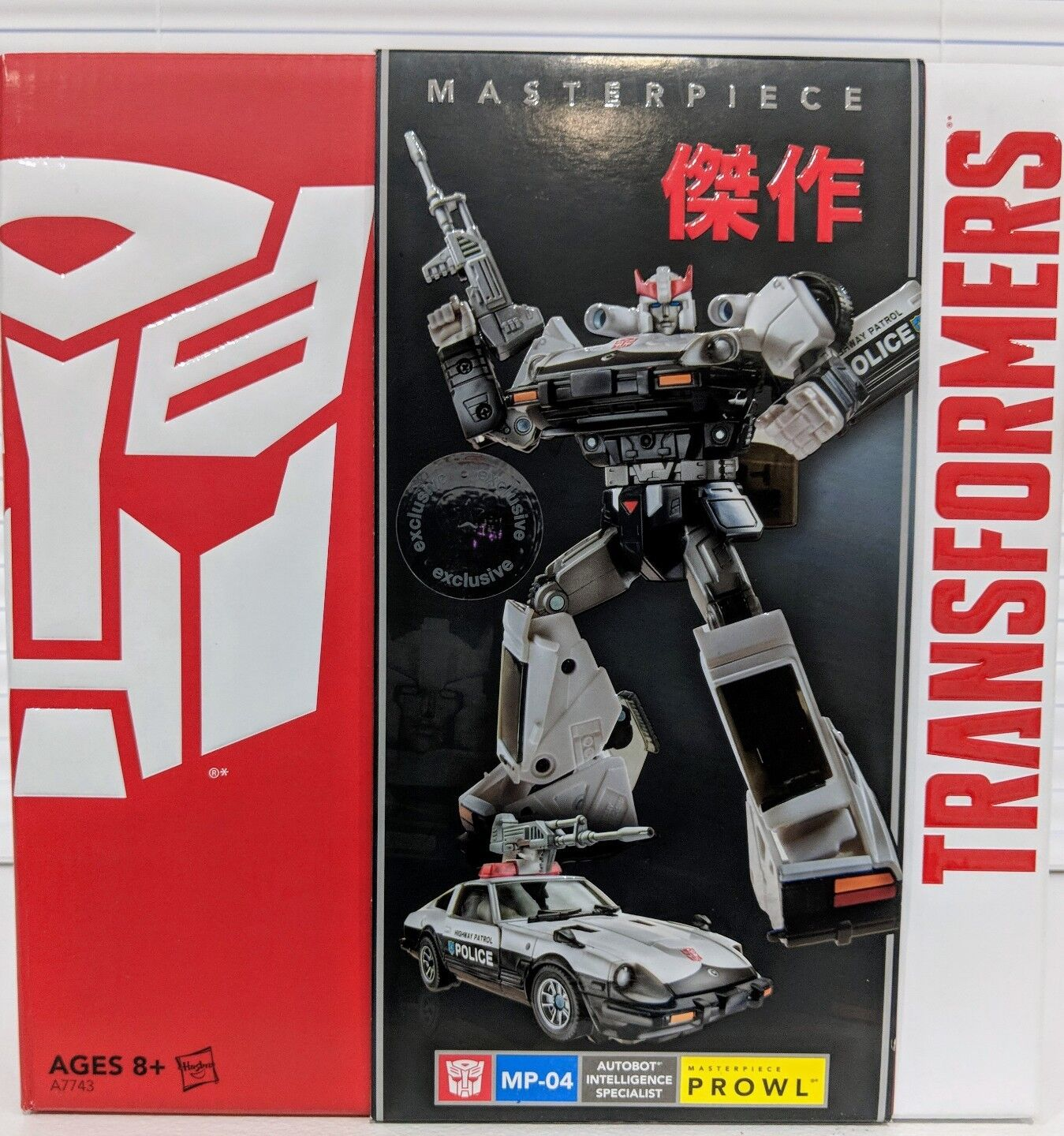 Transformers Prowl Masterpiece Toys R Us Exclusive. MINT  Generations