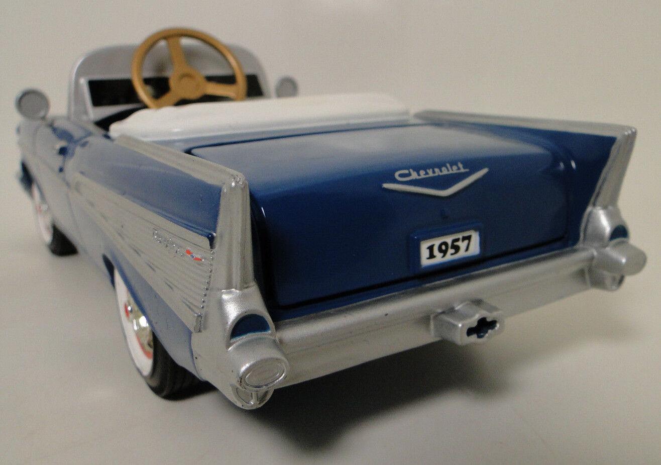 salida Auto A A A Pedal 1957 57 Chevy coleccionista de Metal Vintage Modelo     longitud  9.5 pulgadas 1955  Venta barata