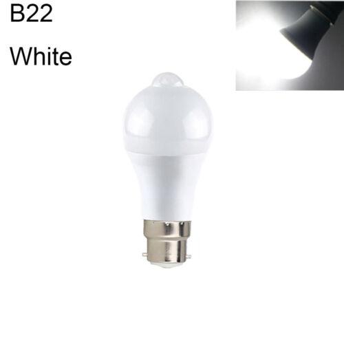 E27//B22 18W 12W PIR Sensor Motion LED Bulb Lamps Globe Bulb Auto ON//OF 85-265V a