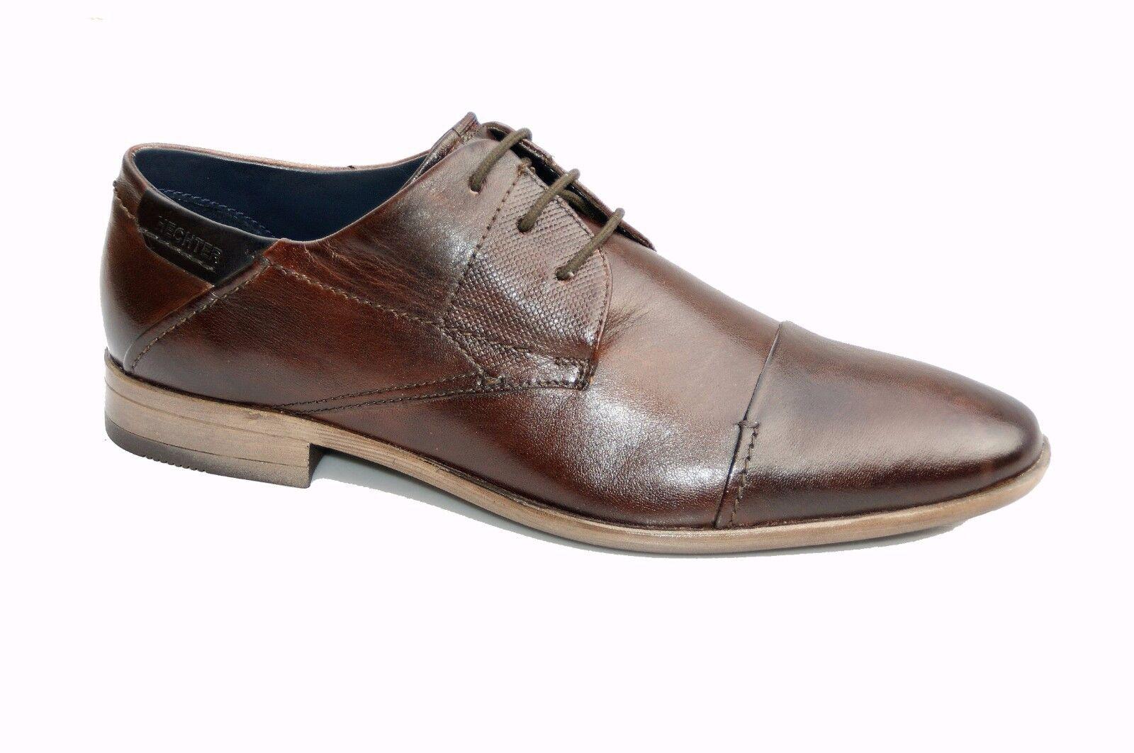 Clerchen Herren Leather Schnürschuhe Walk Tilden