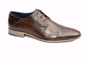sports shoes 60d7d 650e3 Details zu Daniel Hechter 811-21005 edle Derby Business Office Schuhe  Halbschuhe Schnürer