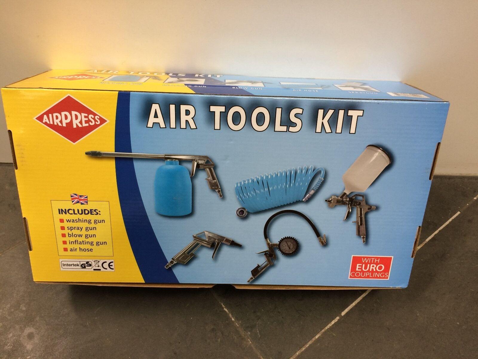 Airpress Air Tools Kit 5 tlg.