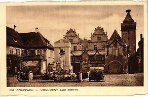 CPA AK ROUFFACH - Monument aux Morts (366186)