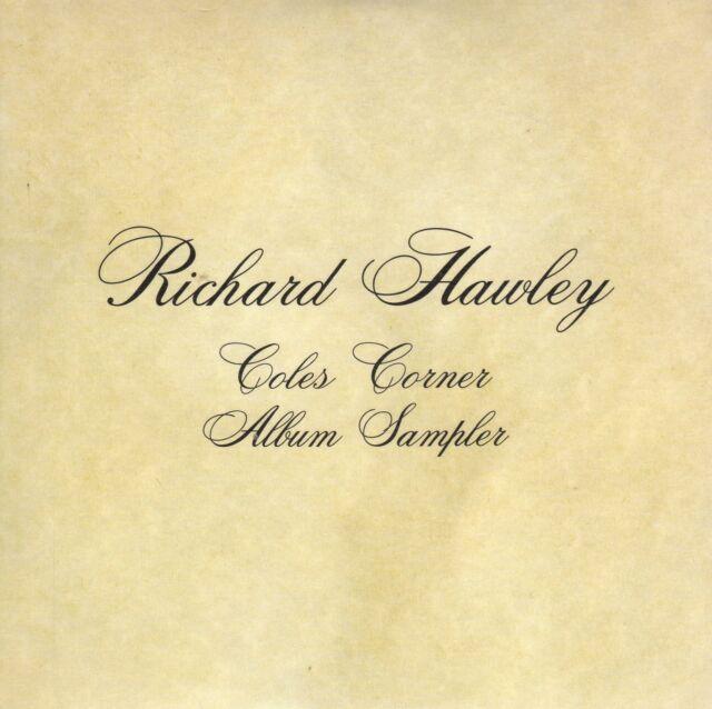 RICHARD HAWLEY COLES CORNER CD SAMPLER PROMO CARPETA CARTON