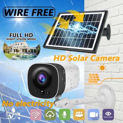 Wireless Solar WiFi IP-Kamera 1080P Sicherheitsüberwachung im Freien wasserdicht