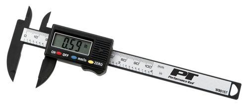 Performance Tool W80157 Digital Caliper Carbon Fiber