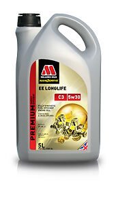 Millers-Oils-NanoDrive-EE-Longlife-Aceite-de-motor-sintetico-completo-de-C3-5w-30-5-litros