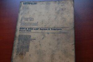 CAT Caterpillar D5 Tractor Dozer Crawler Tractor Parts Manual book catalog spare