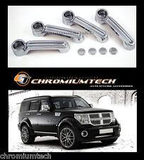 2007-2012 Dodge Nitro CHROME Door handle Cover CRD SXT new from Chromiumtech