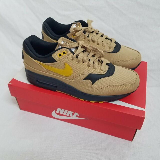 17b9602c1c Nike Air Max 1 Shoes Elemental Gold / Mineral Yellow 875844-700 Size 8 CLP