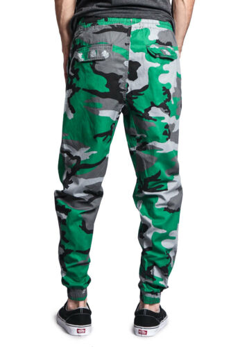 II1 NWT Men/'s Elastic Waist Non-Stretch Twill Jogger Pants 9JP11
