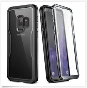 Estuche-Transparente-Para-Galaxy-S9-De-5-8-Pulgadas-Cuerpo-Completo-Con-Scre