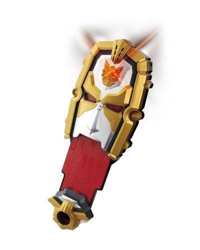 BANDAI Tensou Sentai Goseiger Tensouder Henshin Morpher inc 5 Gosei Card