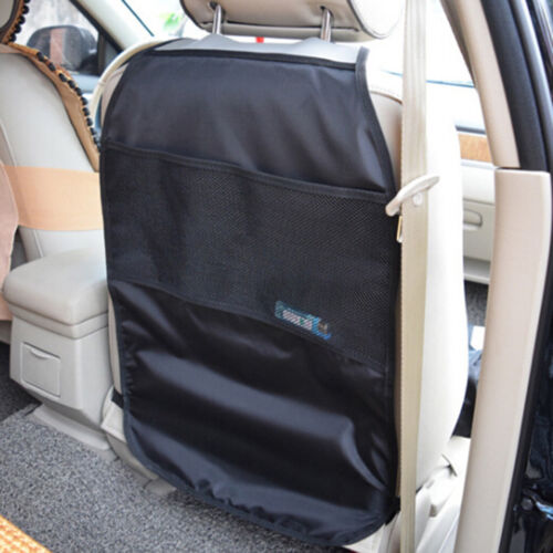 Car seat back protector cover kids kick clean mat protects storage bags FG