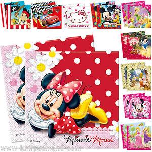 20 Disney Servietten Kinder Geburtstag Geburtstagsdeko