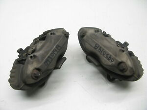 07-14-MERCEDES-W221-W218-W216-BRAKE-CALIPERS-FRONT-LEFT-RIGHT-PAIR-AWD-093019B