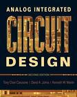 Analog Integrated Circuit Design by Tony Chan Carusone, David A. Johns and Kenneth W. Martin (2011, Hardcover)