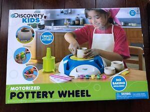 Discovery Kids Motorized Pottery Wheel