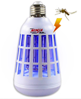 Ninja 2-in-1 Mosquito Killing LED Light Bulb (White)
