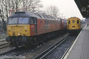 British Rail 47775 amp 205032 Redhill 1994 Rail Photo - Mansfield, United Kingdom - British Rail 47775 amp 205032 Redhill 1994 Rail Photo - Mansfield, United Kingdom