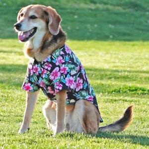 Doggie-Design-Hawaiian-Camp-Dog-Shirt-Paradise-Nights-Sizes-XXS-2XL