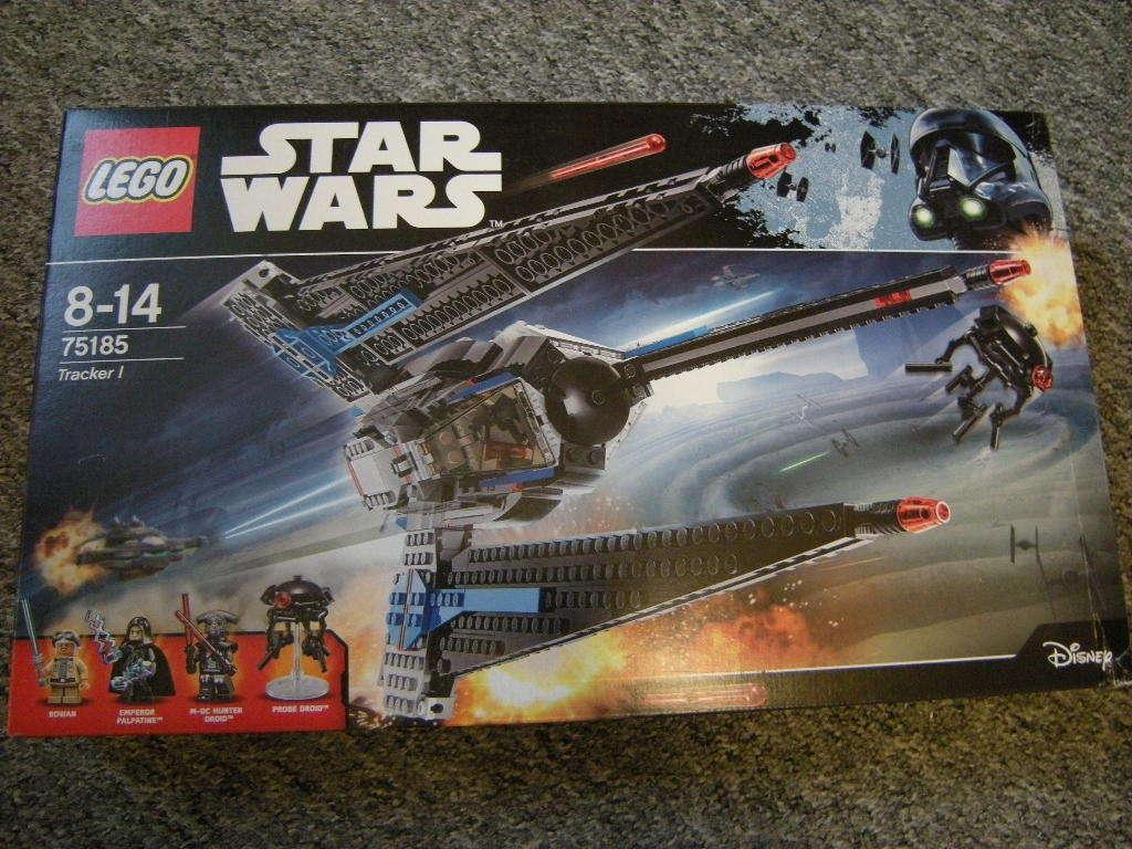 Lego Star Wars Tracker I 8-14 Jahre Nr. 75185 OVP