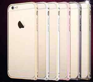 Luxe-Piece-Armure-Metal-Hybrid-BUMPER-Etui-Coque-Housse-iPhone-4-5-5S-6-6S-Case