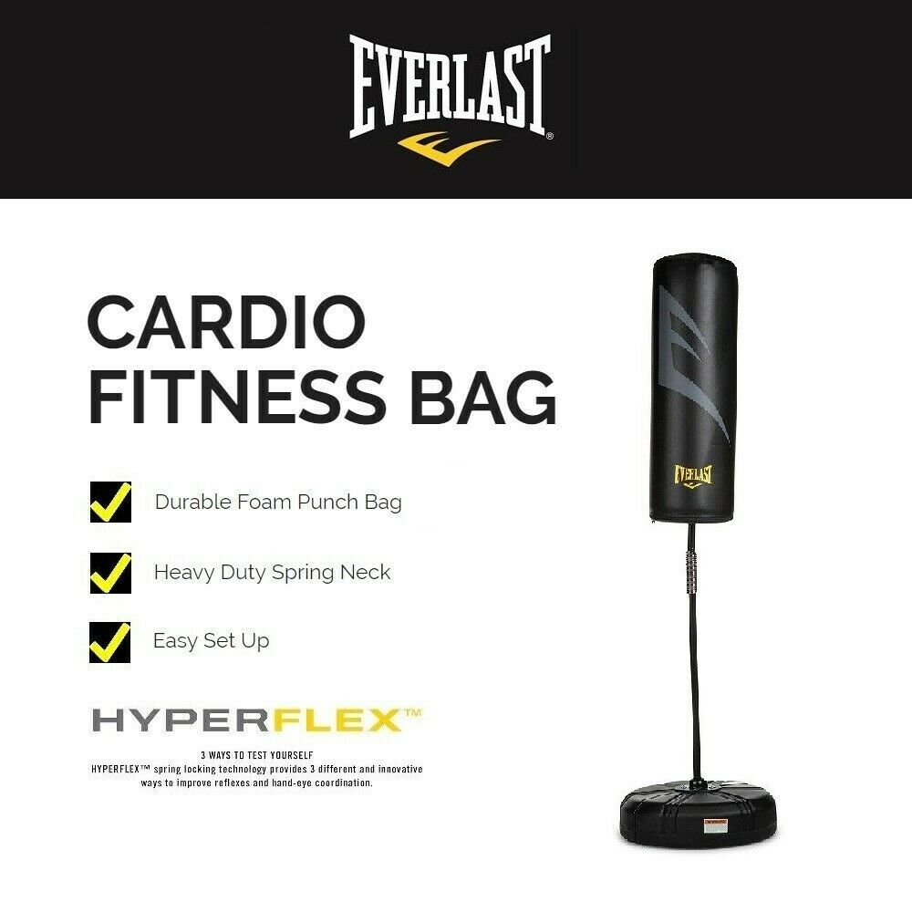 Speed Bag Reflex Bag Hyperflex Free Standing Heavy Bag NEW FREE Shipping