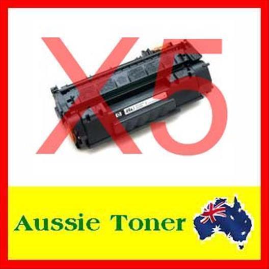 5x HP 49X Q5949X Toner Cartridge for HP Laserjet 1320,1320N,1320TN,3390