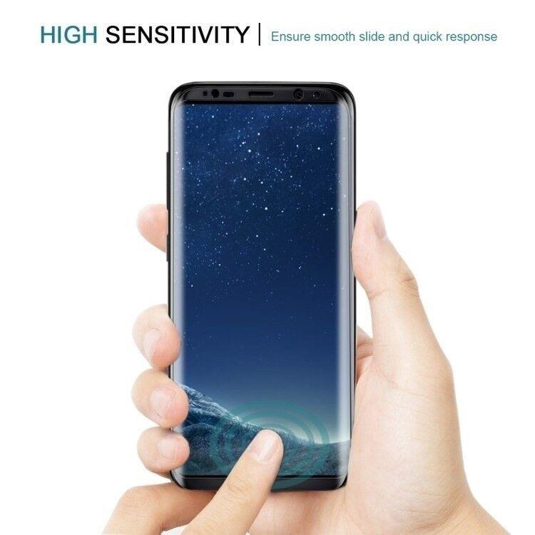 Andet, Samsung Galaxy S8 Panserglas 9H Hårdhed 3D...