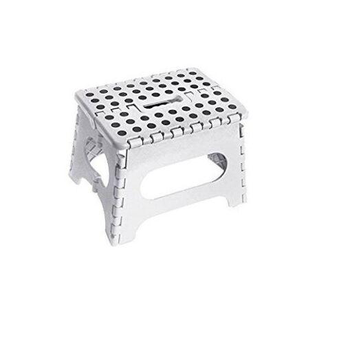 Plastic Folding Step Stool Foot Stools Ladder Bath Kitchen