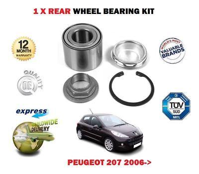 PEUGEOT 207 1.4 16v 1007 1.4 1.6 16v /& HDi 2005-12 2x FRONT WHEEL BEARING KITS
